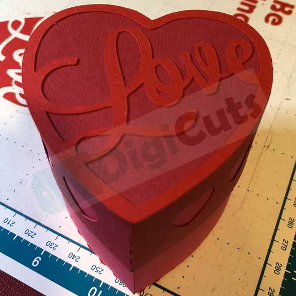 Heart gift box svg and fcm cutting files negle Gallery